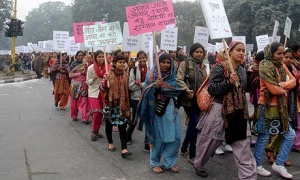 Protests After Death of Gang Rape Victim, New Delhi, India - 02 Jan 2013