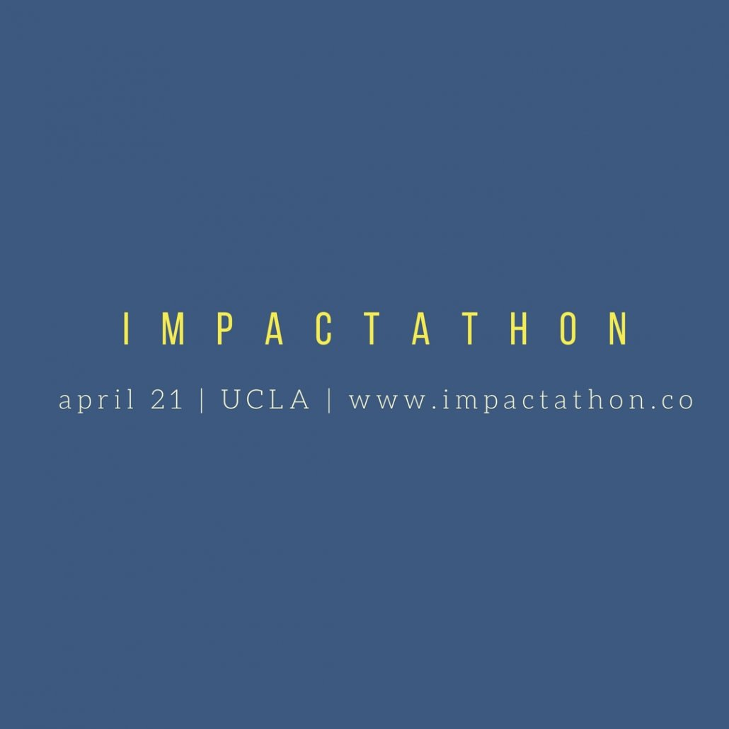 impactathon at ucla anderson, interactive workshop for social entrepreneurs