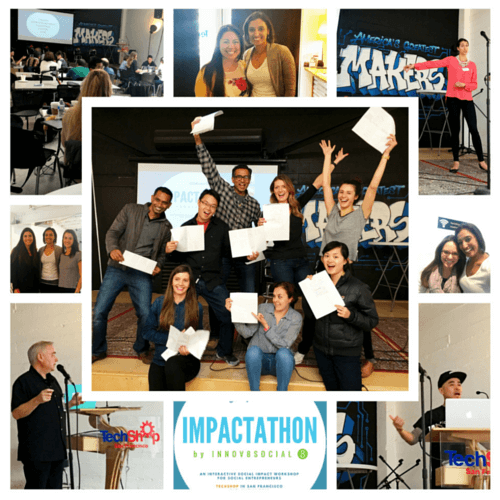 Impactathon photo collage