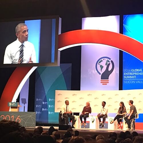 President Obama, Mark Zuckerberg, and Entrepreneurs at #GES2016